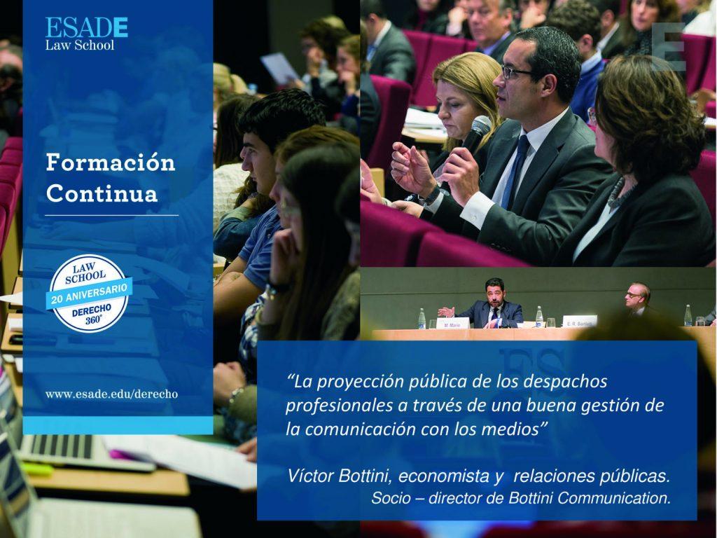 Víctor Bottini en Foro Esade-Premium