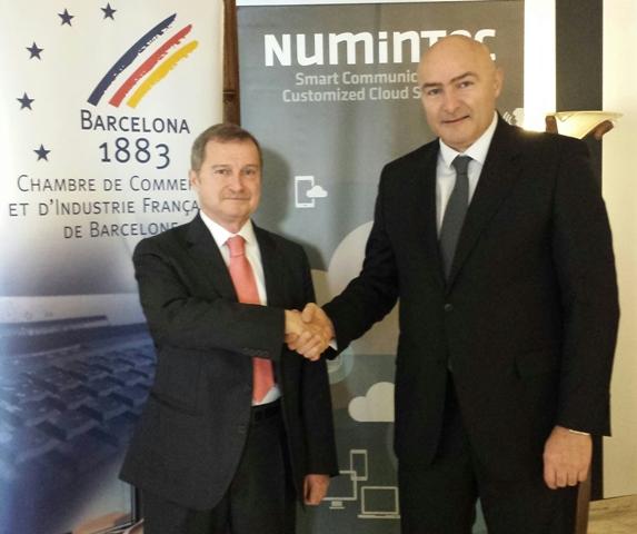 Foto Cámara Comercio Francesa BCN-Numintec