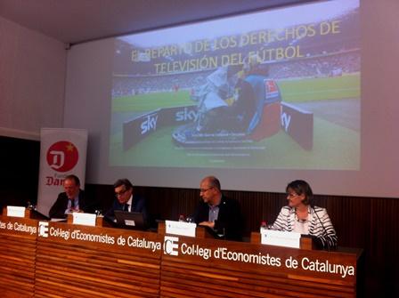 CEC-Conferència Repartiment Drets TV futbol 090615