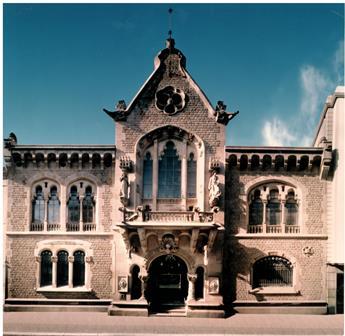 Façana Seu Fundació Antiga Caixa Sabadell