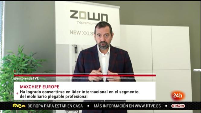Pep García a TVE